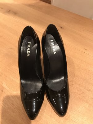 Lackleder Pumps Prada