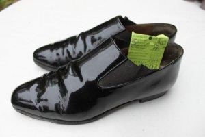 panara Pantoffels zwart Leer
