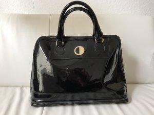 Lackleder Tasche Versace