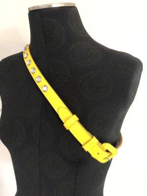 Sonia Rykiel for H&M Cintura di pelle giallo