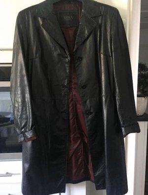 Arma Women Leather Coat black