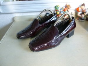 Mocassins bordeaux