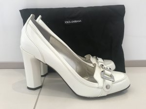 Dolce & Gabbana Pumps white leather