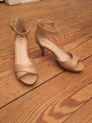 Nine west Strapped Sandals nude