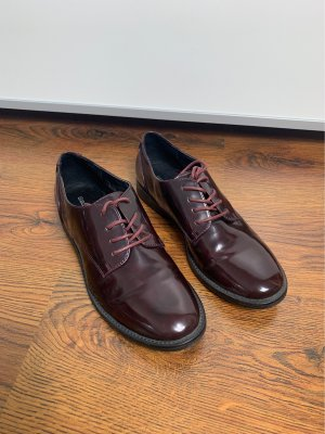 Graceland Oxfords brown violet
