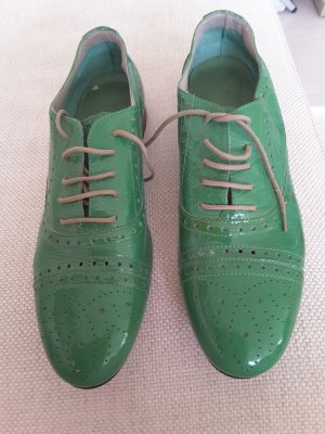 Lace Shoes lime-green
