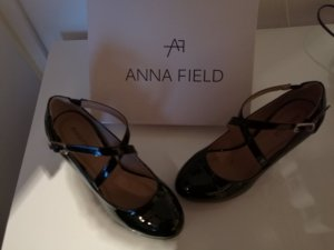 Anna Field Escarpins Mary Jane noir faux cuir