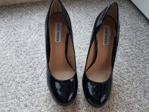 Steve Madden High Heels black leather
