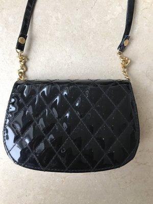 Lacktasche Vintage Klein aber fein im Chanel Stil