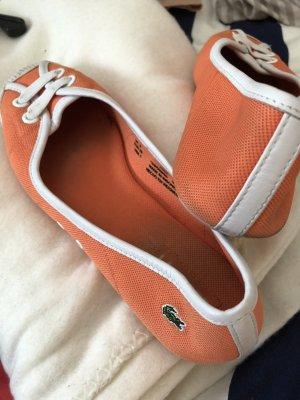 Lacoste Balerinas orange sporty schick
