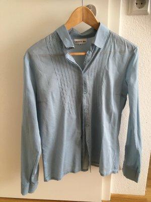 Lacoste Bluse blau fein