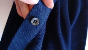 lacoste Bluse Hemd Top neu 36 S dunkelblau