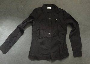 Lacoste Bluse schwarz tailliert
