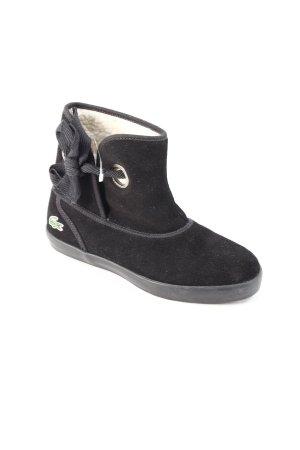 Lacoste Boots schwarz klassischer Stil