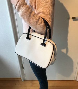 Lacoste Carry Bag white nylon