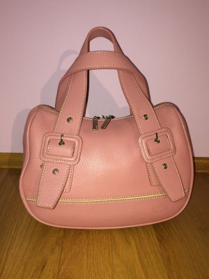 Lacoste Bowling Bag cream-light pink leather