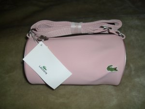 Lacoste Mini Bag pink mixture fibre