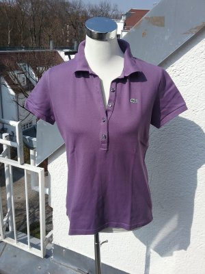 Lacoste Damen Polo in violett