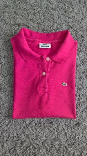 Lacoste Damen Poloshirt, f4811, T-Shirt, Größe: 44, rosa, pink