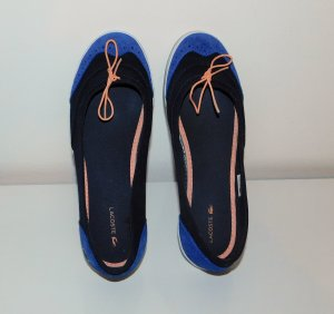 Lacoste Mary Jane Ballerinas blue-dark blue