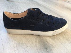 Lacoste Damen Sommer-Sneaker Leder navy Gr.37