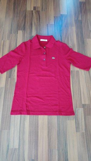 Lacoste Polo Top dark red
