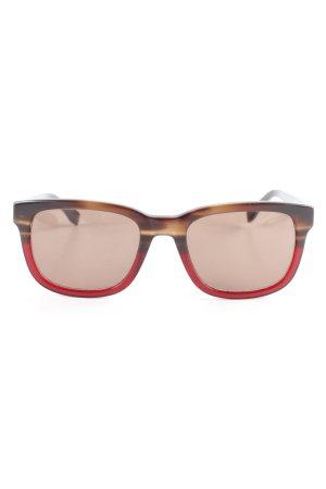 Lacoste Hoekige zonnebril veelkleurig casual uitstraling