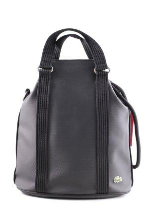 Lacoste Handtasche schwarz Casual-Look