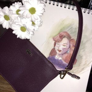 Lacoste Handtasche Clutch neu
