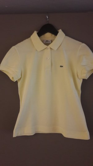 Lacoste - hellgelbes Polo Shirt Gr.40