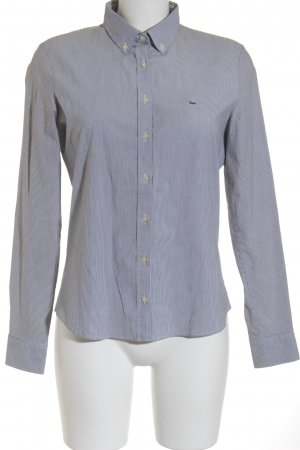 Lacoste Hemd-Bluse mehrfarbig Business-Look