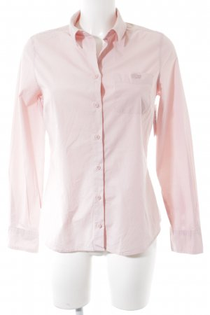 Lacoste Hemd-Bluse rosé Business-Look