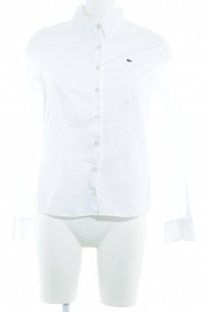 Lacoste Hemd-Bluse weiß Business-Look