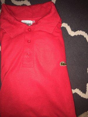 Lacoste Shirt met korte mouwen rood