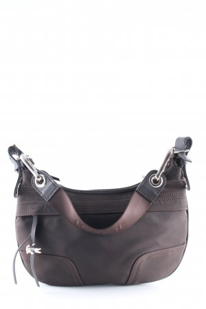 Lacoste Carry Bag dark brown simple style