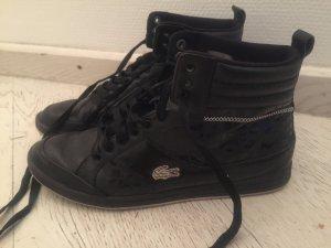 Lacoste High Top Sneaker schwarz