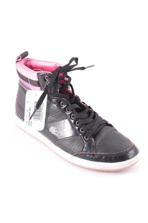 Lacoste High Top Sneaker schwarz sportlicher Stil