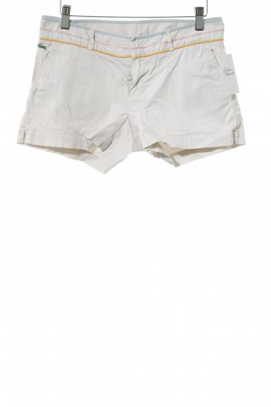Lacoste Hot Pants Streifenmuster Casual-Look