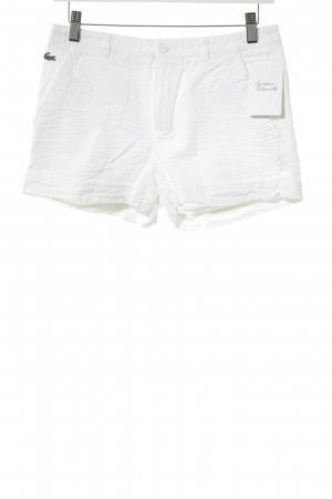 Lacoste Hot Pants weiß Casual-Look