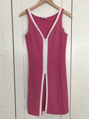 Lacoste Kleid im Tennis Stil, Gr. 36, pink