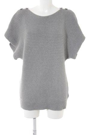 Lacoste Jersey de manga corta gris claro Aplicación del logotipo (metal)