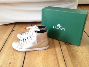 Lacoste L27 MID RQT2, Damen Hohe Sneakers, Silber