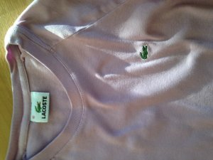 Lacoste langärm. T-Shirt Gr. 40 light-flieder-rosè