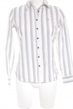 Lacoste Langarm-Bluse Streifenmuster Business-Look