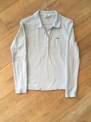 Lacoste Langarm Poloshirt, hellblauGr. 34