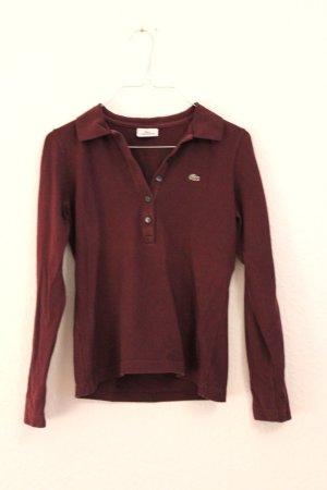 Lacoste Langarm Shirt Poloshirt Vintage