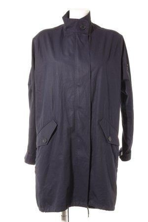 Lacoste Lange Jacke dunkelblau Casual-Look