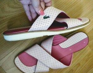 Lacoste Leder Sandalen neuwertig