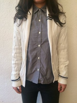 Lacoste Live Cardigan, Zopfmuster, Gr. XS