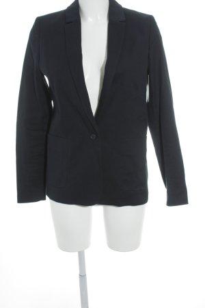 Lacoste Blazer long bleu foncé style d'affaires
